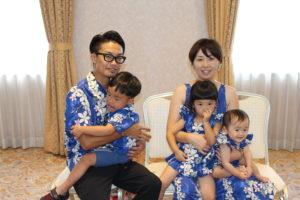 家族の写真です