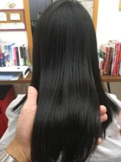 髪の毛の画像です