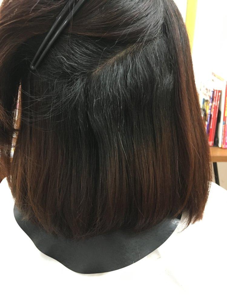 くせ毛で多毛の髪の毛
