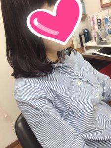 仕上がりヘアスタイル