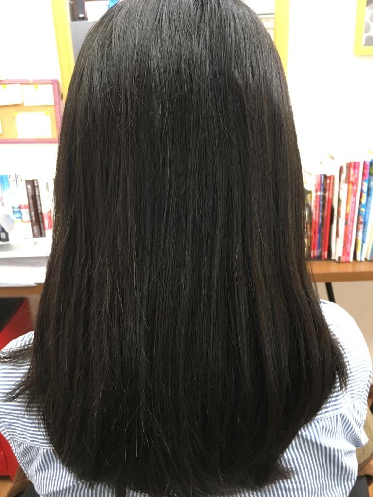 癖毛で多毛な髪