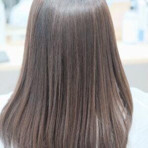 艶々の髪の毛